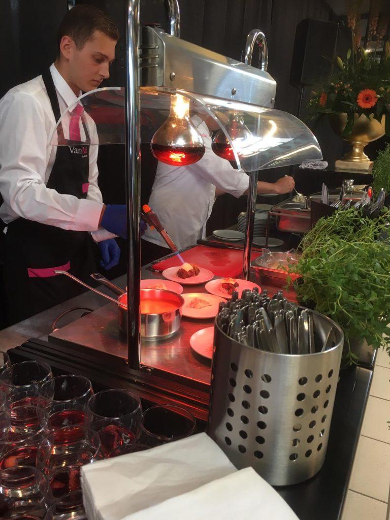 catering voor productpresentatie